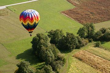 Une baptême de l'air en montgolfièr