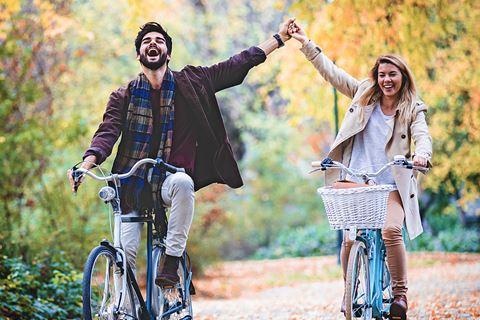 Couple cycliste