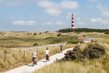 Une balade à vélo à travers les dunes